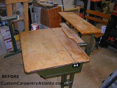 Furniture Refinishing And Wood Restoration By Custom